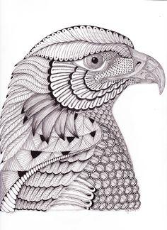 River Eagle --by Christianne Gerstner