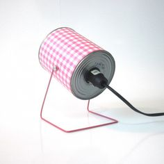 Upcycled Tin Can Into Retro Lamps Lamps & Lights Recycled Packaging