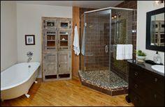 #Imperial #Loft #Toronto Loft Bathroom, Bathrooms, Toronto Lofts, Corner Bathtub, Alcove, Bathroom, Corner Tub, Bath, Bathing