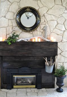 Down to Earth Style: Make an Off Centered Fireplace Visually Symmetrical