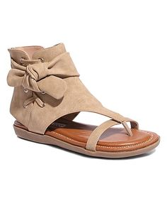 c8072836b9fbc3 2 Lips Too Natural Knot Kait Sandal - Women. Cute FlatsNude ShoesKitten ...