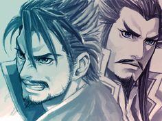 Xiahou Dun & Cao Cao
