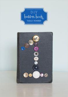 DIY button book