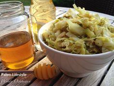 Chinese cabbage with a honey mustard sauce /Spitskool in mosterdsaus (recipe is in Dutch) Veggie Recipes, Cooking Recipes, Healthy Recipes, Food Hacks, Food Tips, Healthy Eating, Healthy Food, Clean Eating, Honey Mustard Sauce