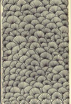 Poster & Illustrations / pattern on We Heart It Doodle Art Drawing, Zentangle Drawings, Art Drawings, Zentangles, Doodle Patterns, Zentangle Patterns, Print Patterns, Flower Patterns, Surface Pattern Design
