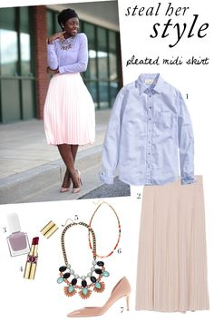 Steal her super cute Spring style!