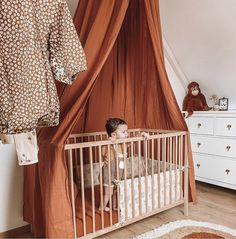 Comment below where will you hang this beautiful canopy in your home? Our new Toffee canopy. Toffee, Baby Room Art, Baby Rooms, Montessori Room, Nursery Accessories, Home Living Room, Home Textile, Kids Furniture, My Dream Home