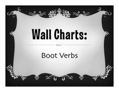 A large verb chart for each Spanish present tense stem changing boot verbs.  There are 10 slides total.Includes endings, e-ie, e-i, o-ue, u-ue, tener, venir, and decirI have included both PDFs and editable PPT files.This product is also available as part of my Boot Verb Bundle