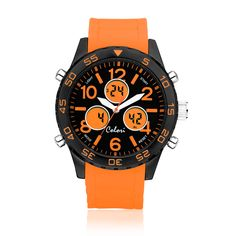 #ColoriWatch - Black LCD - Colori watches are beautifully designed and inspired by seasonal colours and fashion trends. Comfortable silicone straps combined with high precision Japanese quartz movement guarantee an uncomplicated pleasure.