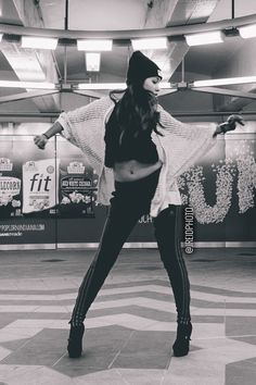 January 2014, Melanie Tirado // Melanie's first Dance Study doing hip-hop style dancing in heels.