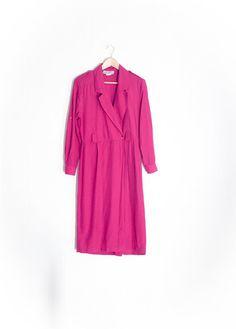 0926e1f3c83 80s Jumpsuit - Vintage Jumpsuit - Harem Jumpsuit - Wide Leg Jumpsuit - Pink  Romper -80s Party -1980s Clothing -Long Sleeve Jumpsuit -Magenta