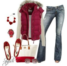Outfits for women | Outfits for Women by Stylish Eve Catalog Pink Winter 2013 Outfits ...