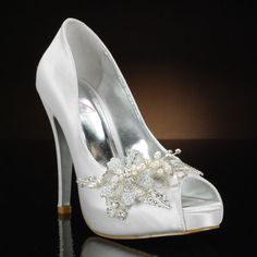 Real Glass Slippers Wedding Shoes | High-Society by My Glass Slipper