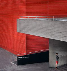 red architecture #colors #red