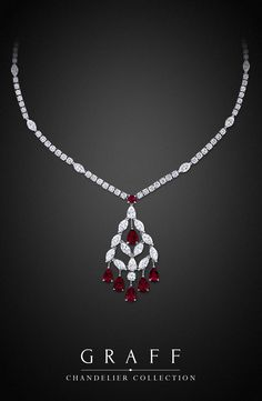 Graff Diamonds: Chandelier Necklace