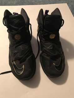 0c26971dcb6207 lebron james 13 black gold and purple. Size 9  fashion  clothing  shoes   accessories  mensshoes  athleticshoes (ebay link)