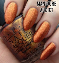 Manicure Addict: OPI Euro Centrale Collection - A Woman's Prague-ative