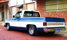 lowered shortbeds on stock wheels? - Page 7 - The 1947 - Present Chevrolet & GMC Truck Message Board Network 85 Chevy Truck, Vintage Chevy Trucks, Custom Chevy Trucks, C10 Trucks, Classic Chevy Trucks, Chevy C10, Chevy Pickups, Chevrolet Trucks, Pickup Trucks