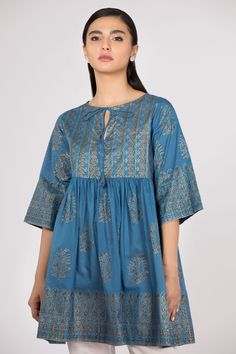 a44612cb173 Royal fantasy blue stitched Pakistani dress in Dubai by Sapphire