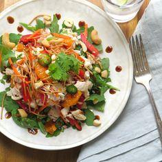 asian chicken salad   Garlic + Zest