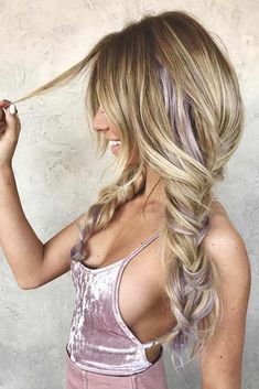 Braided Hairstyles with Long Bang picture2