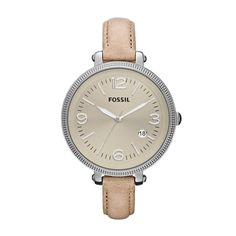 Fossil Heather watch...great casual watch! I love it and it's mine!