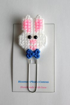 Bookmark Paper Clip Plastic Canvas Pattern Decorative Clips