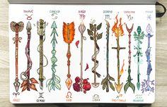 Zodiac arrows by gabriel picolo