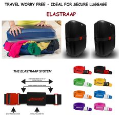 Travel Accessories Adjustable Add-A-Bag Luggage Strap,1 PC Baggage Suitcase Straps Belts TSA Approved Lock GLORY ART Yellow Ducks with Sunglasses