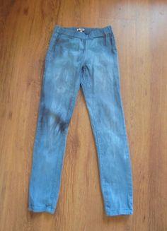 Kup mój przedmiot na #vintedpl http://www.vinted.pl/damska-odziez/rurki/9954630-spodnie-rurki-diy-na-niska-osobe