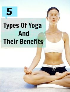 a great way to breakdown the different types of yoga if you're learning about yoga for the first time.