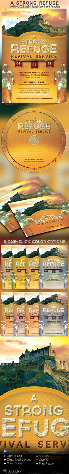 Joy Of The Lord Church Flyer And Cd Template  Discover More Ideas
