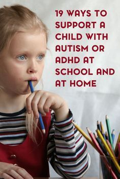 If you are looking to support your child's sensory needs, here are 19 ways to support children with autism or ADHD at school and at home. Tap the link to check out fidgets and sensory toys! Adhd And Autism, Autism Parenting, Adhd Kids, Children With Autism, Kids And Parenting, Parenting Tips, Autism Education, Autism Teens, Teaching Autistic Children