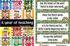 Classroom Freebies: Happy March!
