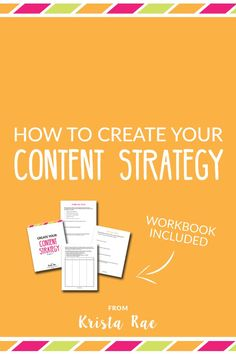 Creating a consistent and focused content strategy will do a lot for your blog and business. Your content will do the work of attracting your ideal audience, boost SEO, and more! - Krista Rae