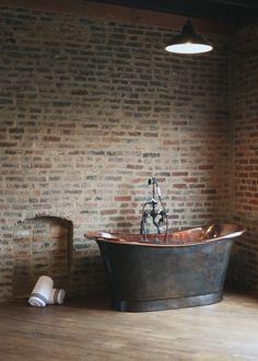 The Bath Works - Vintage Modern Soaking Bathtubs - Antique Luxury Tubs Deep Soaking Tub, Soaking Bathtubs, Layout Design, Design Ideas, Copper Bath, Build A Closet, Kitchen Cabinet Remodel, Loft, Master Bathroom