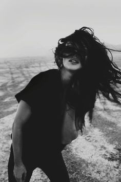 Wind blown...