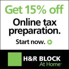 Tax Time...Again. I use H&R Block because it saves me TIME and makes tax preparation EASY. Why not save 15%? http://pcroger.com/get-15-off-your-hr-block-tax-software-download-or-online/