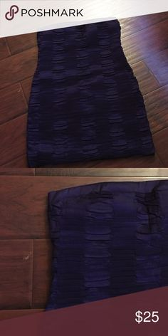 Purple Strapless Plus Size Dress Super cute purple strapless plus size dress, used once, perfect condition, great for any special occasion Dresses Strapless