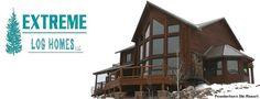Extreme Log Homes, LLC Log Home Plans, Cabin House Plans, House Floor Plans, Log Cabin Kits, Cabin Ideas, House Ideas, Modular Log Homes, Home Exterior Makeover, Log Home Decorating