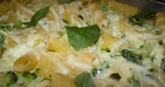 Paste cu dovlecei și broccoli la cuptor (după 1 an)