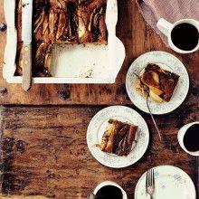 Spiced Pear Cake - Foodess.com