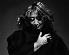 Zaha Hadid is an Iraqi-British heroin who's father was a politician who always encouraged her to aim high. His progressive views on the industrialization of Iraq, housing issues, and the nationalization of the oil production had a great influence on Zaha and her views of the World. Over the years she has won various accolades for the futuristic curvature of her design and her ability to see beauty in brick-work. A force to be reckoned with and a truly inspirational figure.....x