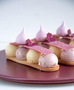 Cocktail Desserts, Fancy Desserts, Wedding Desserts, Just Desserts, Dessert Recipes, Mini Mousse, Mousse Dessert, Sweets Cake, Dessert Decoration