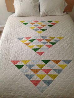 Ähnliche Artikel wie Moderne Quilt-Muster: einfache geometrische Gestaltung--Kingsize auf Etsy