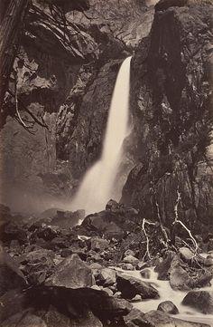 CARLETON E. WATKINS  1829 - 1916 The Lower Yosemite Fall
