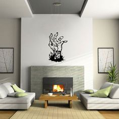 Pocket : Zombie Hand Wall Decal