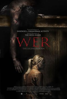 BAR NONE BEST OF 2014 HORROR FESTHON SO FAR of dvds released(as above so below best all around) .. WER - New Werewolf Movie Poster - Hell Horror
