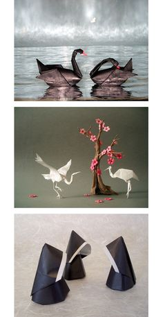 Akira Yoshizawa's Origami Art.