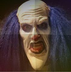 Clown Halloween  mask prosthetic appliance